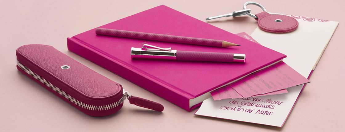 Graf von Faber-Castell - Guilloche electric pink collection